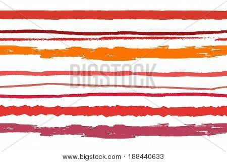 Strips digital background. Hand paint vector illustration