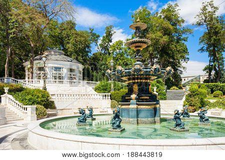 Philharmonic Fountain Park, Baku