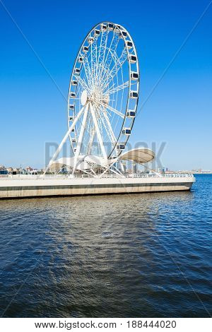 Baku Ferris Wheel, Azerbaijan