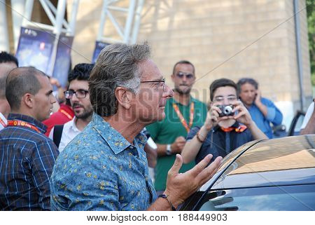 Giffoni Valle Piana Sa Italy - July 12 2011 : Paolo Bonolis at Giffoni Film Festival 2011 - on July 12 2011 in Giffoni Valle Piana Italy