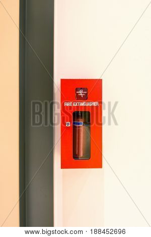 Fire extinguisher box kit tools Fire proof system Fire extinguisher equipment.