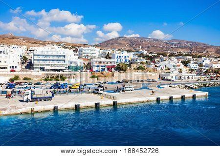 Tinos Island In Greece