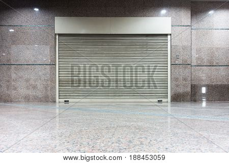 Roller shutter door, Indoor auto type., Steel shutter door.