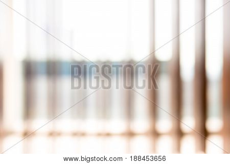 Blur abstract vertical wood slats for backkground