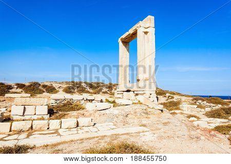 Portara Palatia, Naxos Island