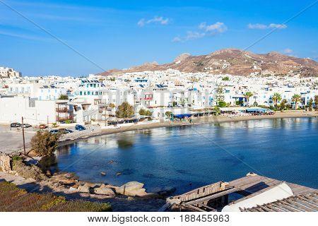 Naxos City Beach, Greece
