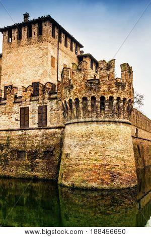 Medieval Castle In Fontanellato