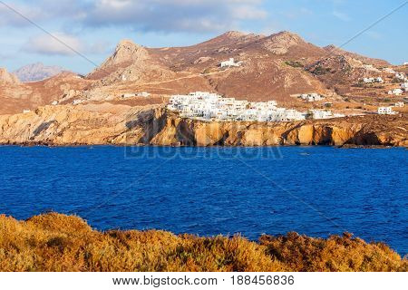 Naxos Island Aerial View