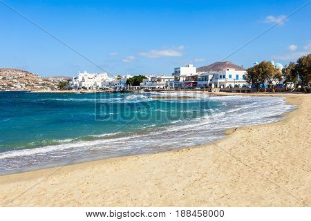 Beach On Paros Island
