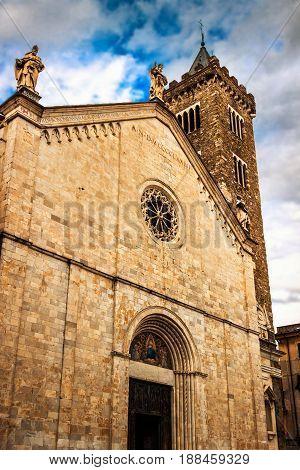 Santa Maria Assunta Cathedral (concattedrale Di Santa Maria Assunta Di Sarzana) In Sarzana