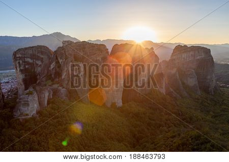 Meteora Monasteries Complex, Greece