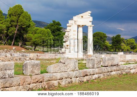 Sanctuary Of Asclepios, Epidaurus