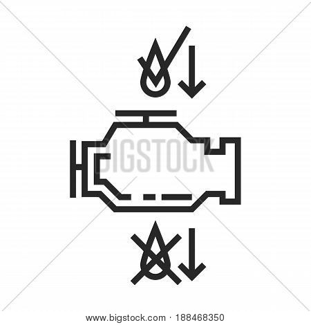 Change Of Oil Vector Icon