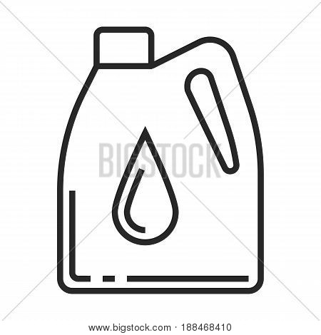 Engine Oil Vector Icon