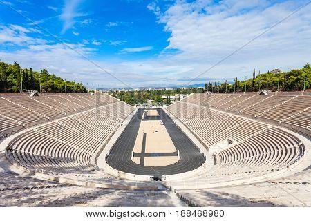 Panathenaic Stadium Also Kallimarmaro
