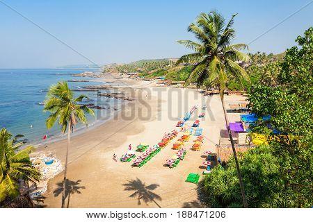 Beach In Goa, India