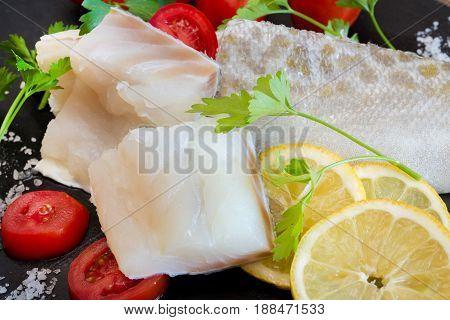 White Salted Codfish