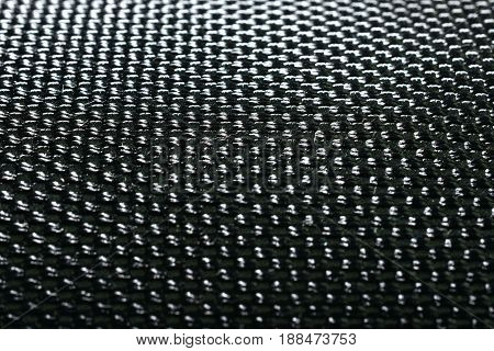 Close-up surface of Fabric nylon texture. (shallow DOF)
