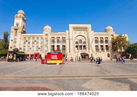 Old Railway Station, Baku