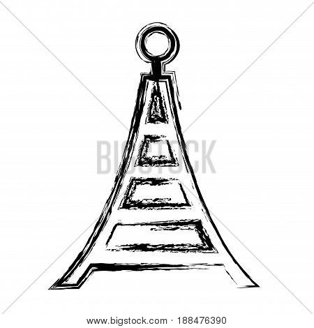 broadcasting antenna signal waves transmiter vector illustration