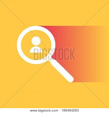 Search for talented employees and work, business, human resources. Vector illustration in trendy style
