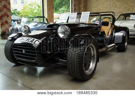 BERLIN GERMANY - MAY 17 2014: Sports car Westfield SEight (1993) created by Colin Chapman. 27th Oldtimer Day Berlin - Brandenburg