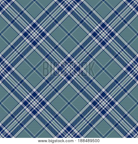 Tartan Seamless Pattern Background. Gray Blue and White Plaid Tartan Flannel Shirt Patterns. Trendy Tiles Vector Illustration for Wallpapers.