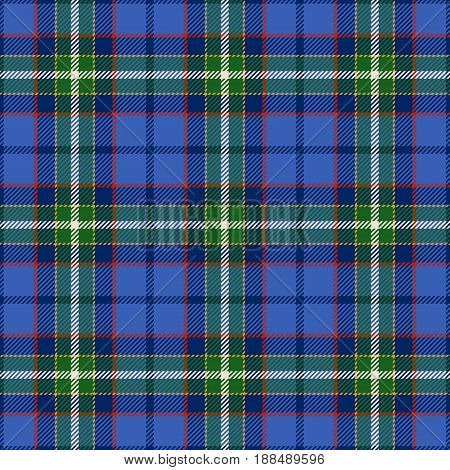 Tartan Seamless Pattern Background. Green Black Blue Yellow and White Plaid Tartan Flannel Shirt Patterns. Trendy Tiles Vector Illustration for Wallpapers.