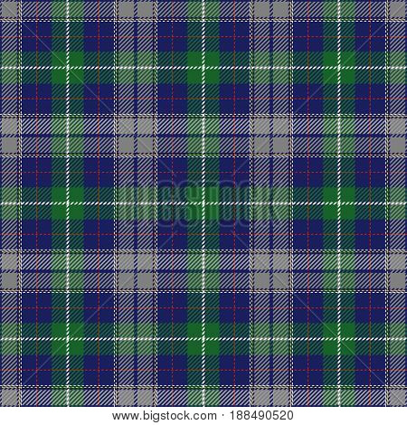Tartan Seamless Pattern Background. Red Blue Gray Yellow Green and White Plaid Tartan Flannel Shirt Patterns. Trendy Tiles Vector Illustration for Wallpapers.