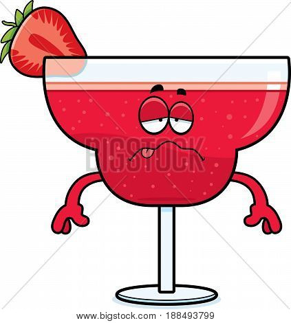 Sick Cartoon Strawberry Daiquiri