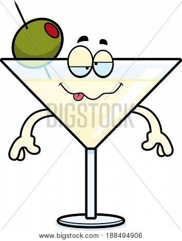 Drunk Cartoon Martini