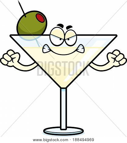Angry Cartoon Martini