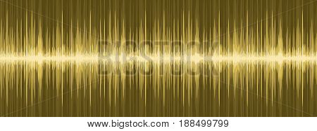 A background with image of sound wave.
