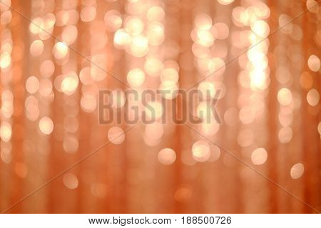 Background with natural bokeh defocused sparkling lights. Bright and vivid colors