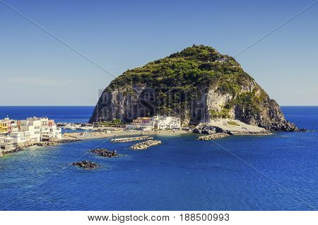Sant Angelo on island Ischia, ItalySan angelo, on Ischia, island in bay of Naples, italy