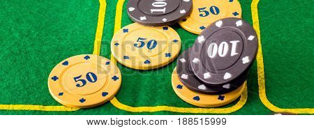 For winning the most popular card game called poker such plastic chips are given but the price of these chips differs