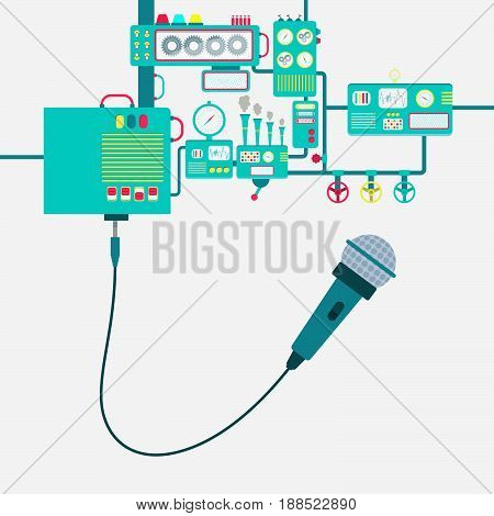 Factory And Microphone