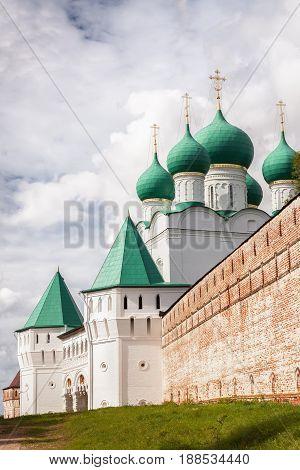 Orthodox monastery of Boris and Gleb (Borisoglebskiy) in the Rostov region Russia