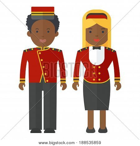 Black People Hotel Staff