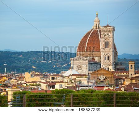Florence, Duomo Santa Maria Del Fiore.