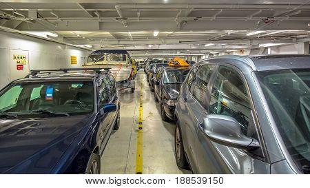 Passenger Car Ferry