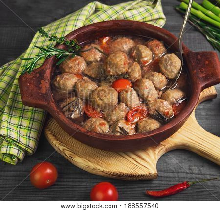Delicious Homemade Meatballs Noisettes