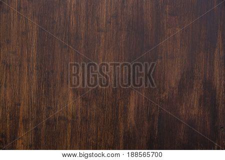 Dark Brown Paint Shellac Coat Wood Tone Nature Wallpaper Background.