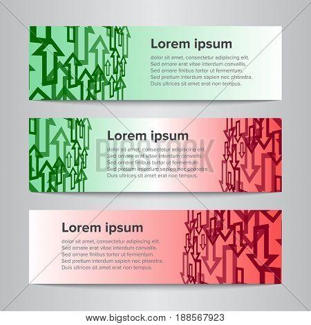 Set Of Vector Design Banner Template