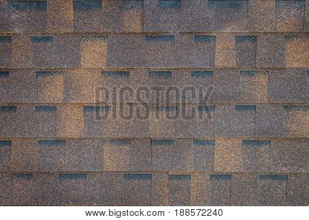 Old Red Tiles Roof Texture For Background