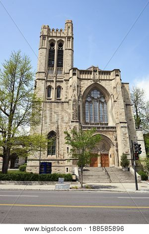 The Church Of Saint Andrew And St Paul, Montreal