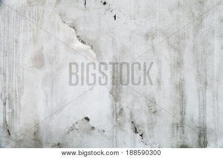 Old White Concrete Wall Texture