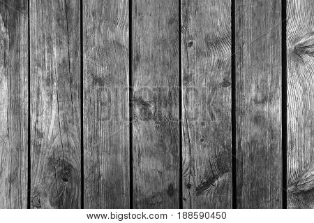 Old Dark Gray Weathered Wooden Wall Texture