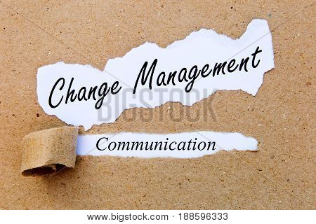 Change Management - Communication - successful strategies for change management