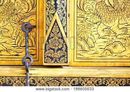 Thailand       And  Asia     Flower Religion      Gate